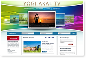 Yogi Akal Website Design